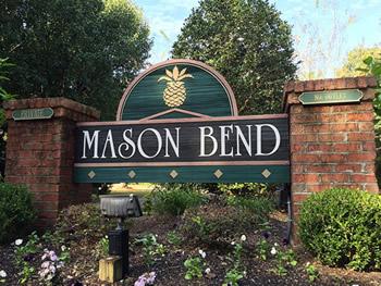 Mason Bend Sign