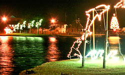 The Carolina Beach Island of Lights