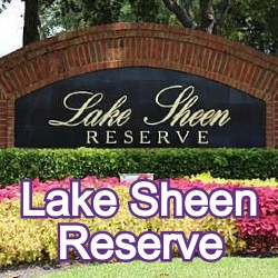 Lake Sheen Reserve Windermere Homes for Sale