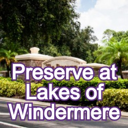 The Preserve at Lakes of Windermere Homes for Sale