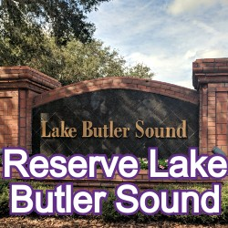 The Reserve at Lake Butler Sound Windermere Homes for Sale