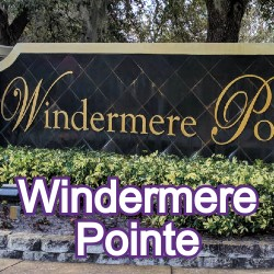 Windermere Pointe Windermere Homes for Sale
