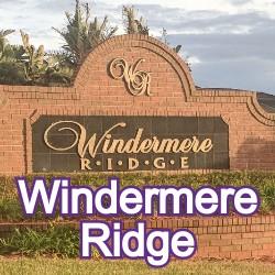 Windermere Ridge Windermere Homes for Sale