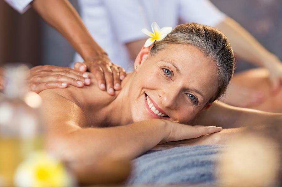 Get a massage near Christmas Mountain property.