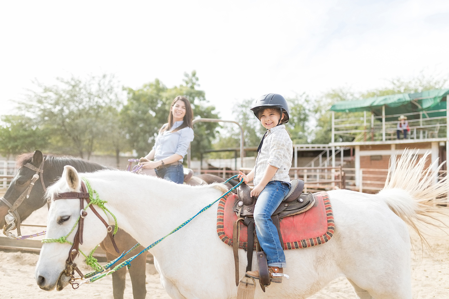 Go horseback riding near your Wisconsin Dells home.