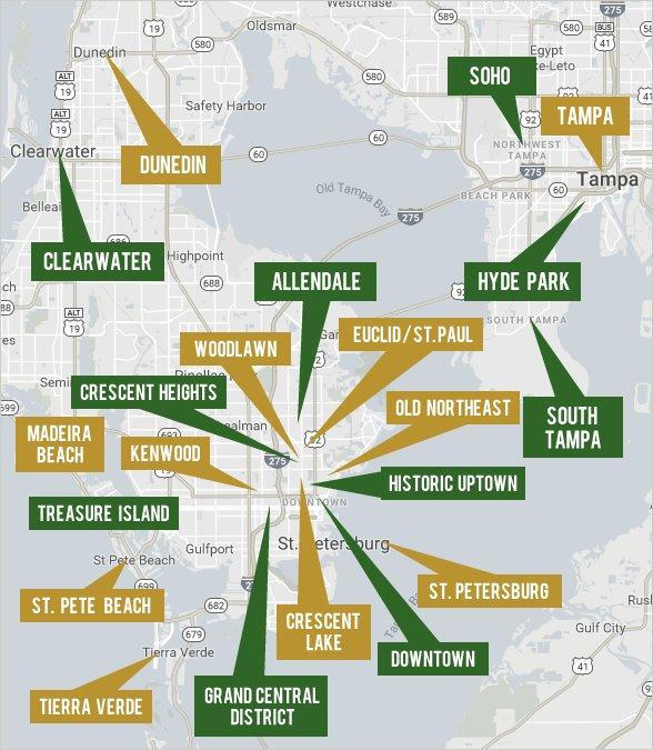 Explore St. Petersburg and Tampa Real Estate