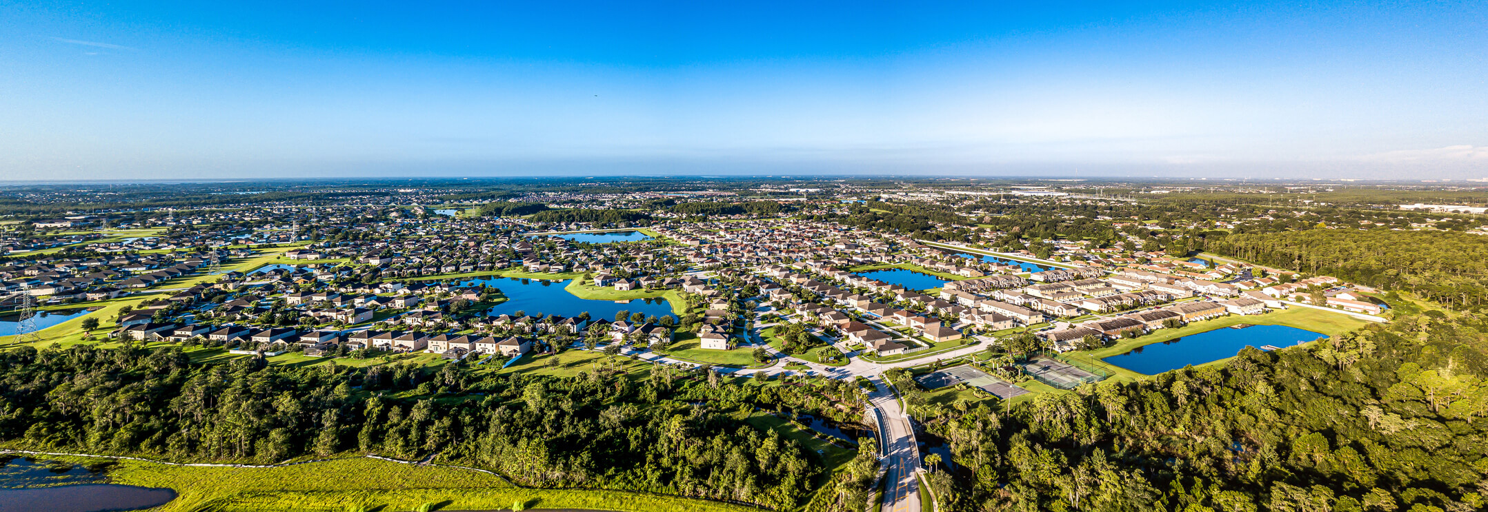 Aerial View of Sawgrass Community