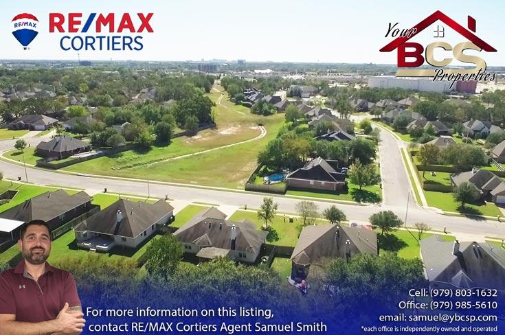 austins colony bryan texas aerial view 1
