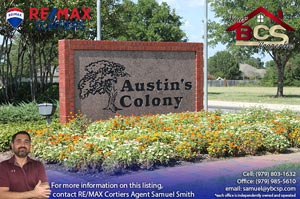 Austins Colony College Station Texas