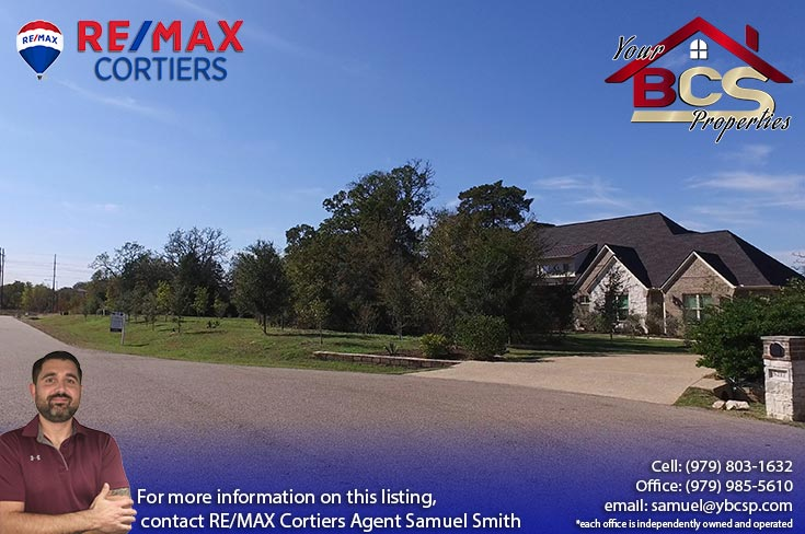 birdpond estates college station home with wooded lot
