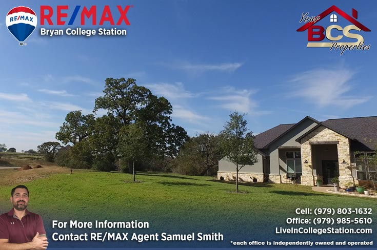 birdpond estates college station home with large yard