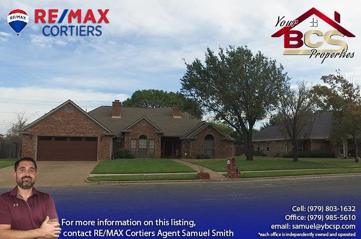 brandon heights college station texas suburban home