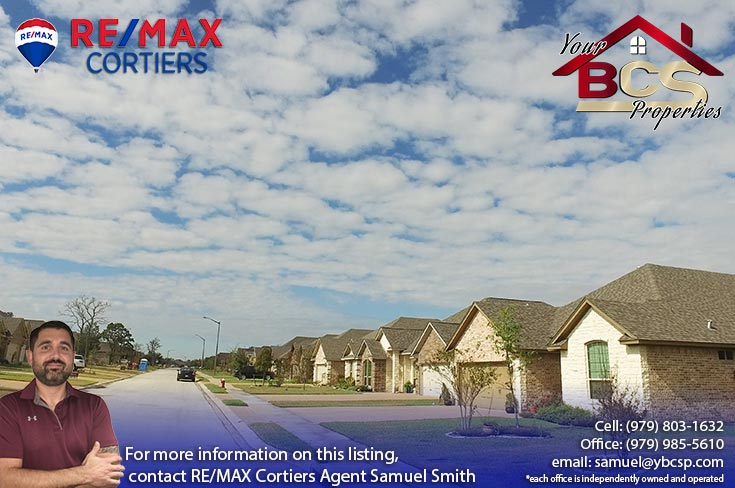 castle rock subdivision college station texas view with sky