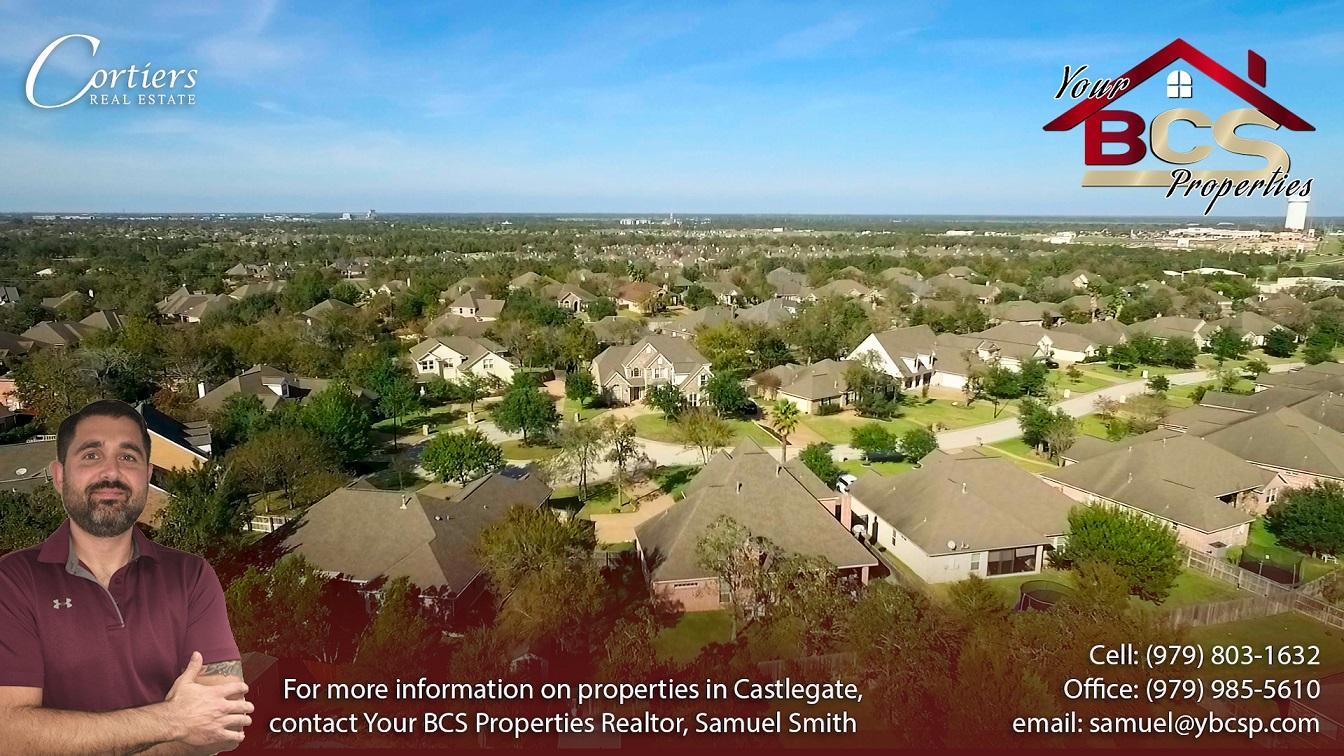 castlegate neighborhood college station texas suburban home