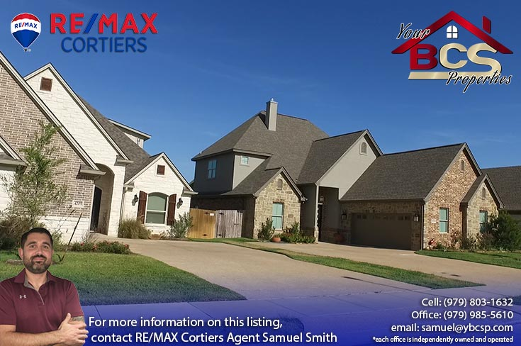 castlegate ii subdivision college station texas two story suburban home