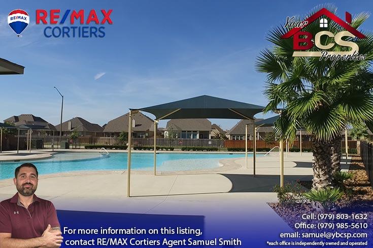 castlegate ii subdivision college station texas pool area