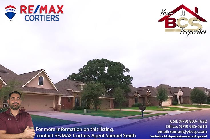 suburban home creek meadows subdivision college station texas