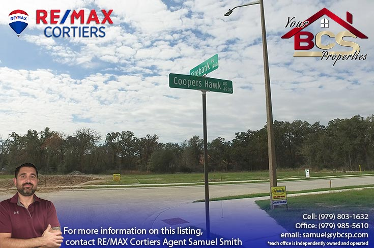 crossing at lick creek college station texas lot for new build