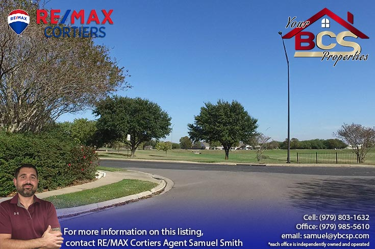 edelweiss estates subdivision college station texas view of park