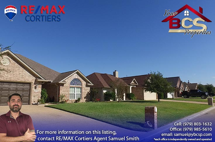 edelweiss gartens subdivision college station texas neighborhood view
