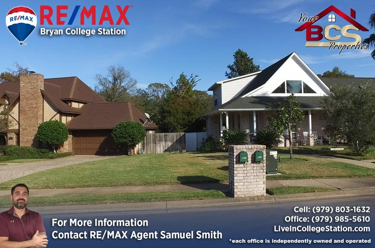 emerald forest subdivision college station tx suburban home with curb appeal