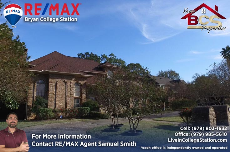 emerald forest subdivision college station tx large suburban home