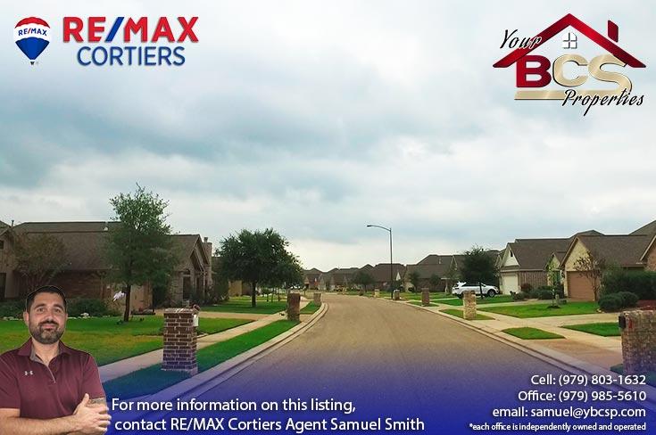 estates at creek meadows college station texas street view of neighborhood