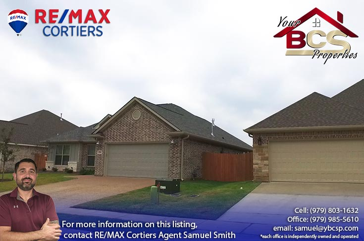 estates at creek meadows college station texas suburban home with curb appeal