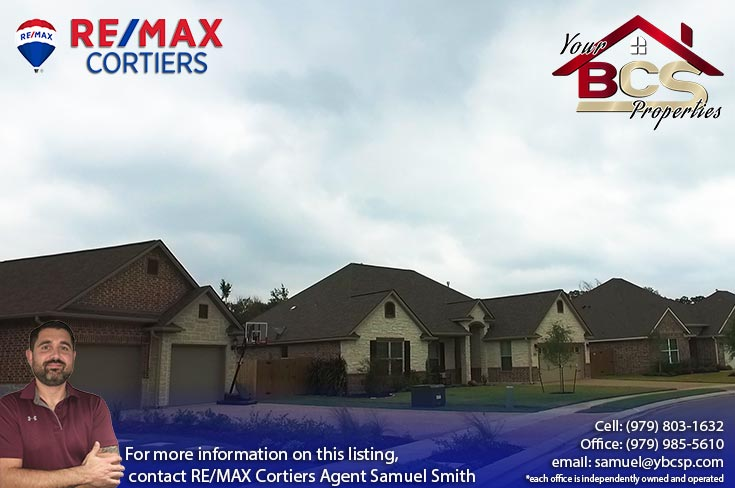 estates at creek meadows college station texas street view of multiple homes