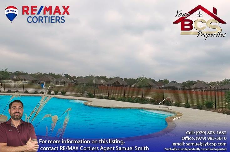 estates at creek meadows college station texas neighborhood pool area