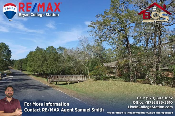 foxfire subdivision college station texas home with wooded lot and curb appeal
