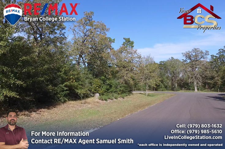 foxfire subdivision college station texas wooded lot