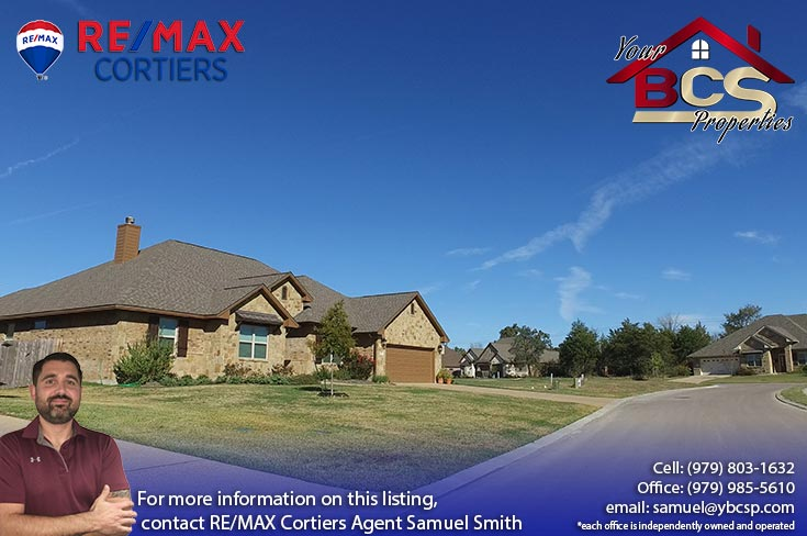 greenbrier subdivision bryan texas street view of suburban home
