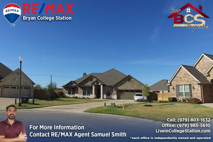 greenbrier subdivision bryan texas suburban home with garage