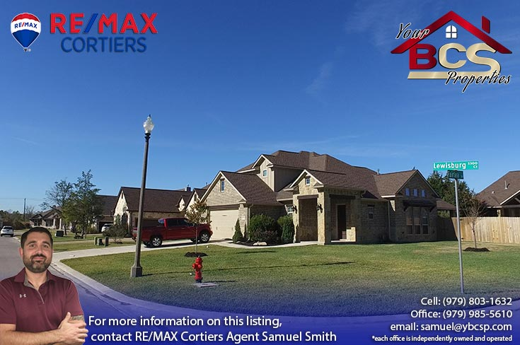 greenbrier subdivision bryan texas street view of home on corner lot