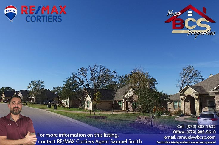 greenbrier subdivision bryan texas street view of neighborhood