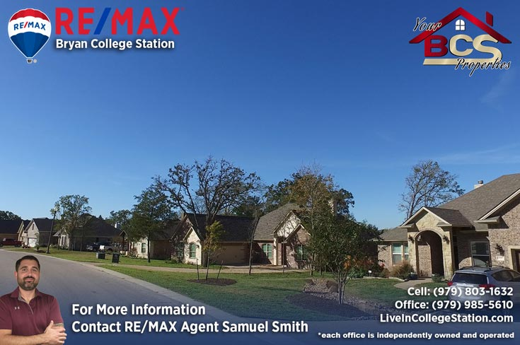 greenbrier subdivision bryan texas street view of neighborhood