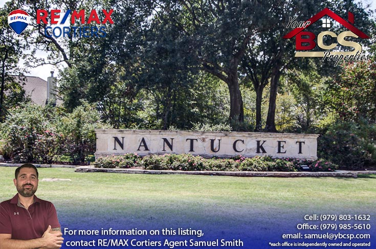 nantucket subdivision college station texas entrance landmark