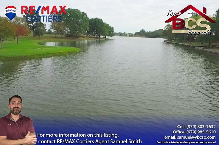 nantucket subdivision college station texas view of lake