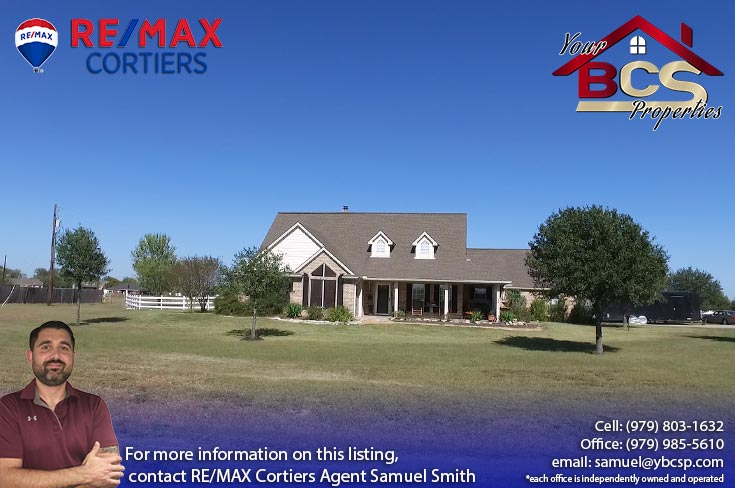 north country estates bryan texas suburban home on lot with trees