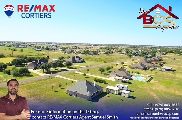 north country estates bryan texas aerial view of suburban homes