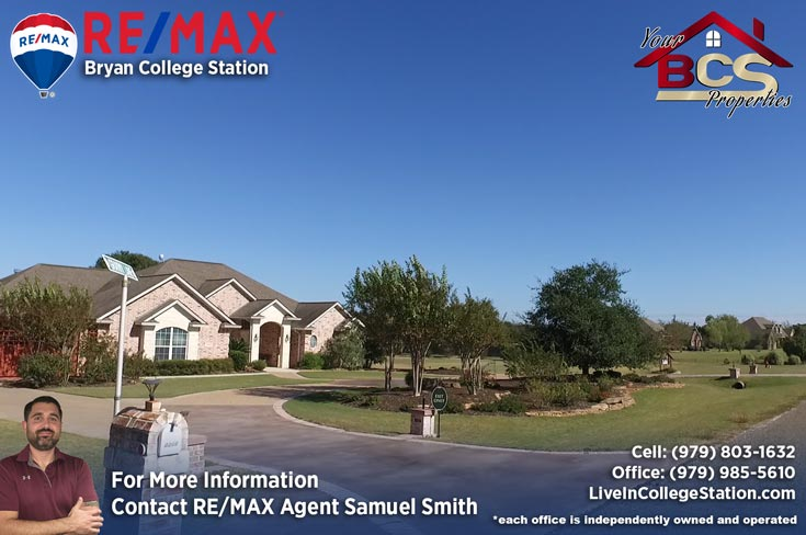 north country estates bryan texas view of home with large driveway