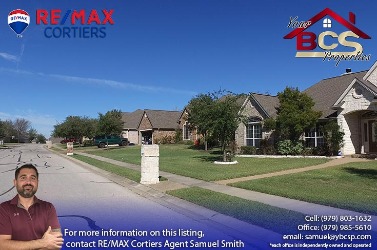 park meadow subdivision bryan tx street view of multiple homes