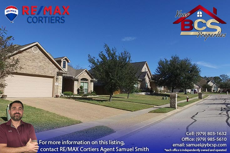 park meadow subdivision bryan tx multiple homes with trees