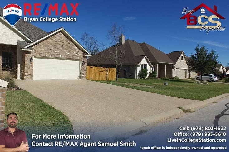 park meadow subdivision bryan tx home with garage