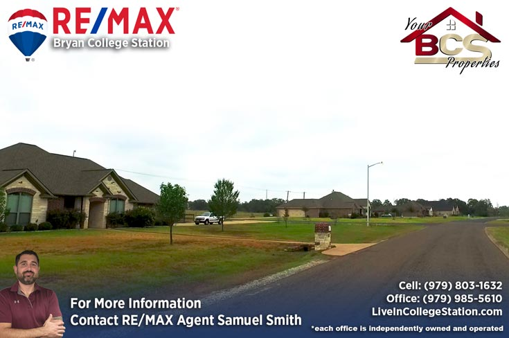 sadle creek college station texas corner home with large lot