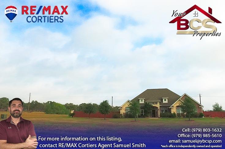 sadle creek college station texas large suburban home