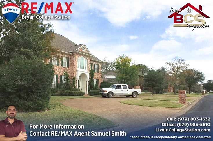 southwood forest college station texas elegant home with curb appeal