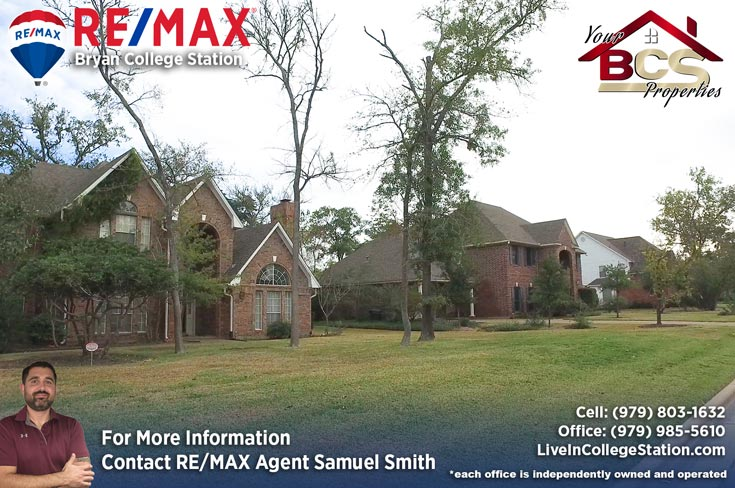 southwood forest college station texas home with greenspace