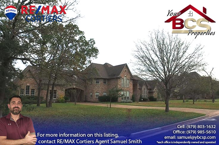 southwood forest college station texas grandiose home